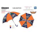 PLANES - parapluie d:65 h:55 100% polyester
