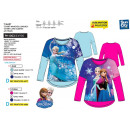 frozen - T-Shirt Double mouwen 65% polyester / 35