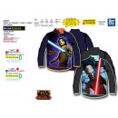 STAR WARS REBELLE - sweat half zip 100% polyester