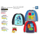 wholesale Childrens & Baby Clothing: POKEMON - T-Shirt long sleeves 100% coton