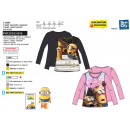MINIONS - t-shirt manches longues multi compositio