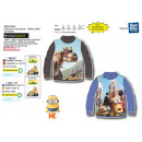 MINIONS - sous pull-over collar roule 65% polyeste