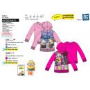 Minions - zipped hood sweatshirt 65% polyester / 3