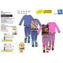 MINIONS - ensemble 2 pièces sweat & legging 65% po