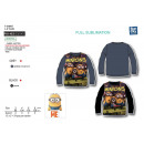 Minions - Long Sleeve T-Shirt 95% polyester /