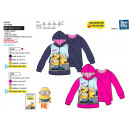 wholesale Licensed Products: Minions - 100% polyester full zip sweatshirt
