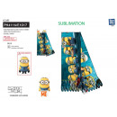 wholesale Licensed Products: Minions - 100% polyester scarf