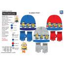MINIONS - set 2 pièces bonnet & gants multi
