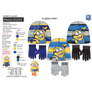 Minions - set 2 pieces hat & gloves 100%