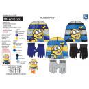 MINIONS - set 2 pièces bonnet & gants 100%