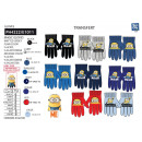 wholesale Licensed Products: Minions - multi composition gloves