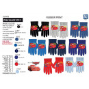 wholesale Licensed Products: Cars - multi composition gloves