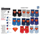 Superman - multi composition gloves