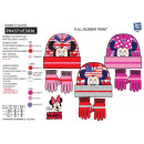 Minnie - set 2 pieces hat & gloves 100%