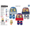 Minions - set 2 pieces hat & gloves multi