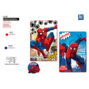 Spiderman - plaid 100x150cm fleece 100% polyester