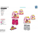 Soy Luna - set 2 pieces hat & gloves 100% p