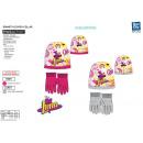 Soy Luna - Set 2 Stück Hut und Handschuhe 100% p