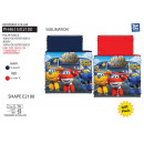 Super Wings - reversible collar 100% polyester