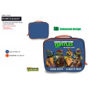 TORTUES NINJA - lunch box 100% polyester