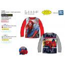 Spiderman - 100% coton Long Sleeve T-Shirt