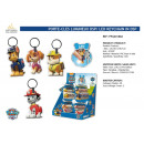 wholesale Gifts & Stationery: Paw Patrol - bright keyring dsp