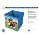 grossiste Cadeaux et papeterie: PAW PATROL -  tiroir de rangement pliable