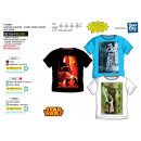 Star Wars IV - Short Cuff T-Shirt 100% Coto