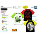 wholesale Licensed Products: Star Wars IV - Short Raglan Cuff T-Shirt 10