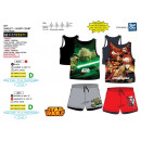 wholesale Shorts: Star Wars III -  set top & shorts 100% cot