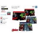 Großhandel Bademoden: Avengers CLASSIC -  Boxer Bad sublim dev / zurück 8