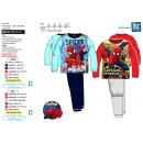 Spiderman - impresiones largas pijama 100% algodón