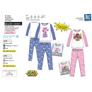 Super Wings - Long pantalón de pijama ao 100% algo