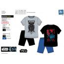 STAR WARS IV - pyjacourt t-shirt & sh 100% coton