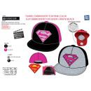 Superman - cap Jersey gestickt 100% Kinderbett