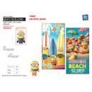 Minions - beach towel 100% coton