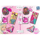 Barbie - set caps & towel & bag & mail