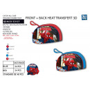 SPIDERMAN - trousse 22 / 14cm 100% polyester
