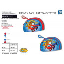 SUPER WINGS - trousse 22 / 14cm 100% polyester