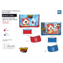 YOKAI WATCH - 100% polyester wallet