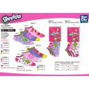 Großhandel Strümpfe & Socken: SHOPKINS - 3-er  Pack Socken niedrigen 55% c
