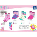 Peppa Pig - socks 70% cotton 18% polyester 1