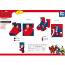 Avengers CLASSIC - socks 80% sea co15% pa5%