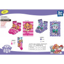 Paw Patrol - socks 80% sea co15% pa5% el
