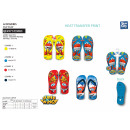 Super Wings - flip flop 100% poliéster zapatos