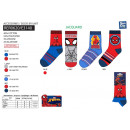 Spiderman - socks 40% co55% pe3% vis2% e