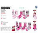 MINNIE - pack 3 chaussettes 40% co55% pe3
