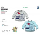 TOM & JERRY - 100% polyester sweatshirt