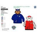wholesale Licensed Products: Paw Patrol - zipped cardigan 100% polyester