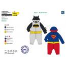 DC COMICS BABY - volledig afdruk 100% polyester